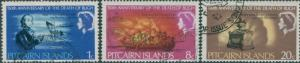 Pitcairn Islands 1967 SG82-84 Admiral Bligh death set FU