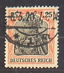 Reich, Germany, 1902, SC #70A16, (2242-T)