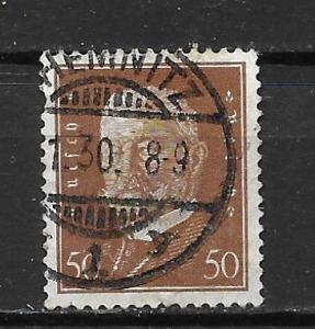 Germany 381 50pf Presidents single Used (z4)