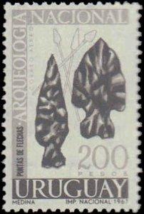 Uruguay #C323-C330, Complete Set(8), 1967-1968, Never Hinged