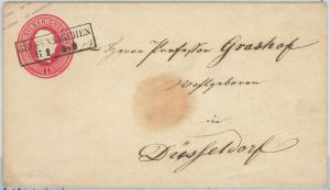 66765 - GERMANY PRUSSEN - Postal History - STATIONERY COVER : U1  USED