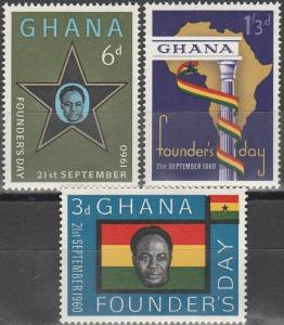 Ghana #86-8  MNH F-VF (SU3513)
