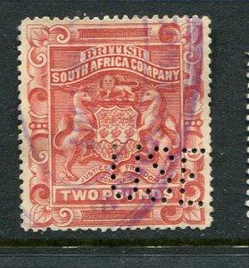 Rhodesia #17 Revenue Cancel