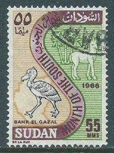 Sudan, Sc #196, 55m Used