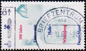 Germany. 2002 56c S.G.3106 Fine Used