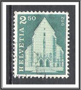 Switzerland #454 St Oswald's Church Used