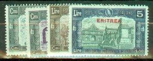 C: Eritrea B29-32 mint CV $225