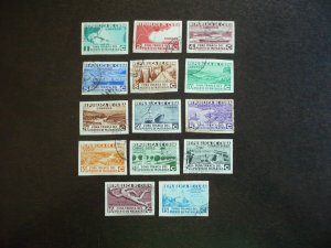 Stamps - Cuba-Scott# 324-331,C18-C21,CE1,E8, Used Set of 14 Imperf Stamps