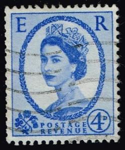 Great Britain #359d Queen Elizabeth II; Used (0.55)