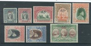 Pakistan - Bahawalpur O17-24  MNH cgs (2)