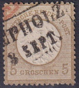 Germany #6 F-VF Used CV $85.00  (Z2843)