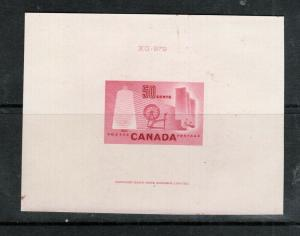Canada #334DP Extra Fine Die Proof In Carmine Rose With CBN Inscription