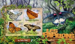 TOGO 2016 SHEET BUTTERFLIES INSECTS tg16202a