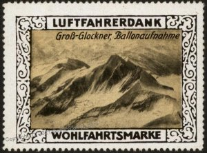 Germany WWI Air Force Luftfahrerdank Flight MNH Cinderella Stamp Gross G G102798