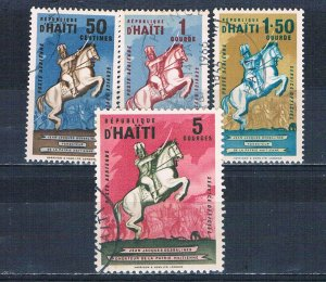 Haiti CO6-9 Used set Dessalines 1962 (MV0194)