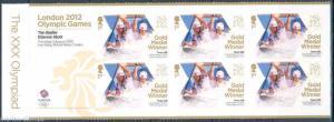 GREAT BRITAIN  2012   GOLD MEDAL WINNERS CANOE SLALOM LONDON  GAMES  S/S