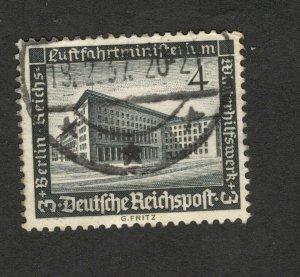 GERMANY -USED STAMP
