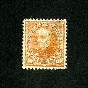 US Stamps # 283 Sup Gem light cancel