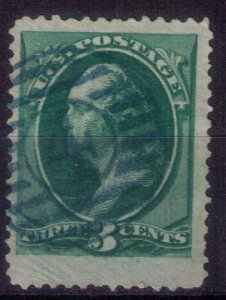US Scott #158 Used Deep Green F-VF