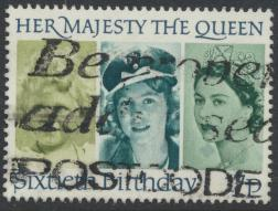 Great Britain SG 1316 - Used -QE II 60th Birthday