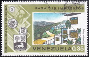 Venezuela # 1072 used ~ 35¢ Suburban Housing Development
