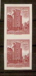 Austria Buildings 1.50 S imperf