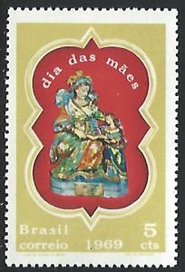 Brazil #1122 Mint No Gum As Issued Single Stamp