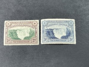 SOUTHERN RHODESIA # 37-37A-MINT/NEVER HINGED--COMPLETE SET--1935-41