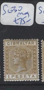 GIBRALTAR (P0504B)  QV  1P  SG 30  MOG