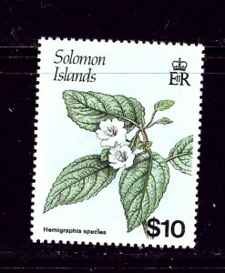 Solomon Is 596A MNH 1988 Flowers