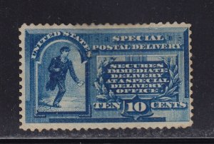 E1 F-VF OG mint previously hinged with nice color cv $ 550 ! see pic !