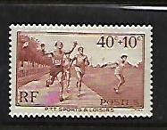 FRANCE, B61, MINT HINGED, FOOT RACE