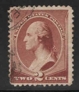USA Scott 210 Used stamp nice cancel