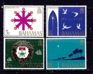 Bahamas 331-34 MNH 1971 Christmas
