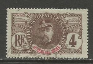 Upper Senegal & Niger  #3  Used  (1906)  c.v. $2.50