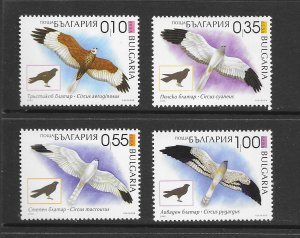 BIRDS - BULGARIA #4391-4  MNH