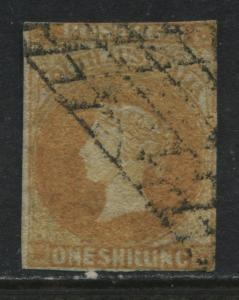 South Australia QV 1857 1/ orange used