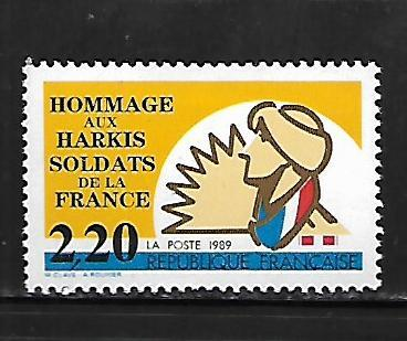 FRANCE, 2178, MNH, HARKI SOLDIERS OF FRANCE
