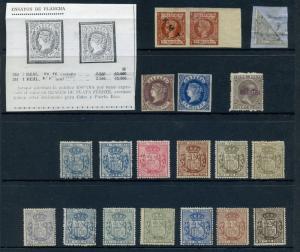 Spanish Hispanola Edifil &Scott Catalog Accumulation of Stamps w/ Better!! SPAIN