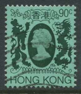 STAMP STATION PERTH Hong Kong #396 QEII Definitive  FU CV$0.60