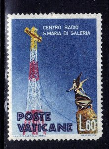VATICAN CITY SC# 267  USED 60L 1959  SEE SCAN