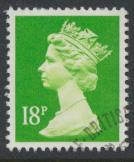 Great Britain SG X913 Sc# MH104    Used with first day cancel - Machin 18p