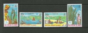 British Virgin Islands,1969 Tourism UMM Set SG  236/9