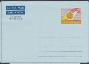 JAMAICA 18c aerogramme - unused.............................................L229