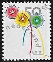 Netherlands - # 739 - Holiday Greetings - MNH