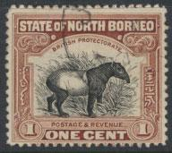 North Borneo  SG 277 SC# 167 Used  perf 12½  see scan & details