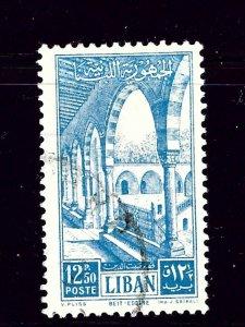 Lebanon 272 Used 1953 Issue