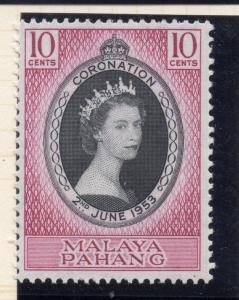 Penang Malaya 1957 Early Issue Fine Mint Hinged 10c. 029757