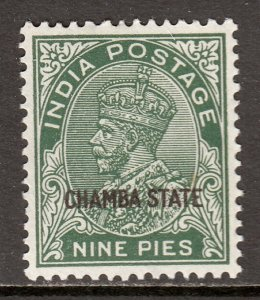 India (Chamba) - Scott #61 - MH - SCV $7.50