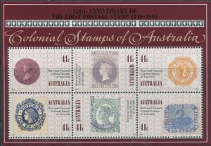 Australia 1990 SG1253 Colonial Stamps MS MNH